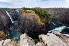 Взгляд каньона Victoria Falls Стоковое Фото