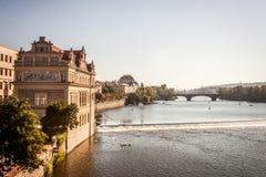 Взгляд Карлова моста Стоковое Фото