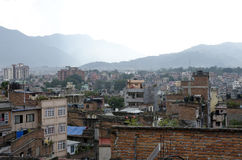 Взгляд Катманду Стоковые Фотографии RF