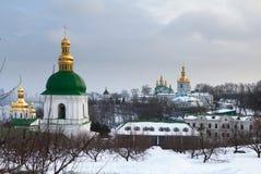 Взгляд Киева Pechersk Lavra. Киев. Украина. стоковое изображение