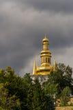 Взгляд Киева Pechersk Lavra, правоверного монастыря стоковое изображение