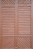 Взгляд конца-вверх текстуры старых деревянных дверей Стоковые Изображения RF