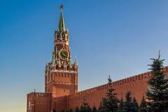 Взгляд красной площади Москвы Кремля moscow Россия Стоковые Изображения
