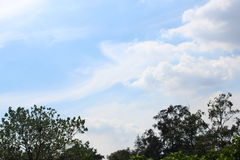 Взгляд красоты облаком ` s рая Стоковое Изображение RF