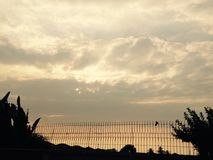 Взгляд красоты облаком ` s рая Стоковая Фотография RF