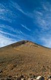 Взгляд кратера вулкана Стоковое Изображение RF