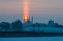 Взгляд Кремля в Казани России Стоковые Изображения RF