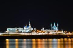 Взгляд Кремля в Казани России Стоковое Изображение