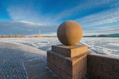 Взгляд крепости Питера и Пола Стоковые Фото