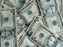 5 долларов кредитки Стоковая Фотография