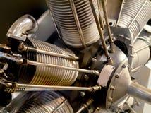 Самолетный двигатель Radial год сбора винограда Стоковое Изображение