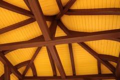 взгляд крыши дома нутряной Стоковые Изображения RF