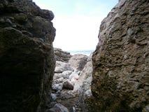 Взгляд к морю Стоковое фото RF