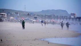 Взгляд к океану на Мексике сток-видео