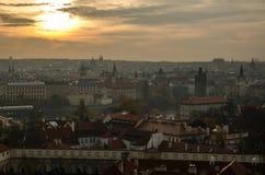 Городок Праги старый Стоковые Изображения RF