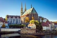 Церковь Gorlitz St Peter Стоковое Изображение RF