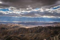 Взгляд ключей - национальный парк дерева Иешуа - Калифорния Стоковые Изображения