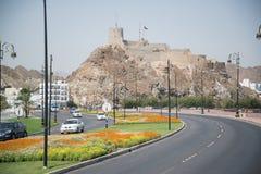 Взгляд к Muscat Стоковые Изображения