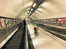 Взгляд Лондона метро Стоковое фото RF
