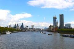 Взгляд Лондона перемещения Стоковое Изображение RF