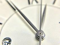 Взгляд макроса игл часов стоковые изображения rf