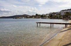 Взгляд малой пристани Стоковое Изображение RF