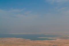 Взгляд мертвого моря Стоковые Изображения RF