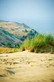 Взгляд мертвых дюн, Nida, Литва Стоковые Изображения