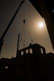 взгляд места воздушного здания деятельности промышленный Стоковые Фотографии RF