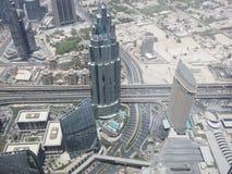 взгляд метро Дубай города панорамный Стоковые Изображения