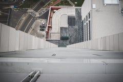 Взгляд милана от башен Garibaldi Стоковая Фотография