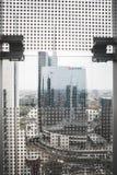 Взгляд милана от башен Garibaldi Стоковая Фотография RF
