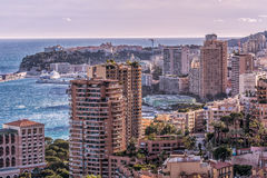 Взгляд Монако Стоковая Фотография