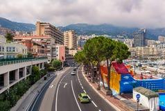 Взгляд Монте-Карло городской Стоковые Фото