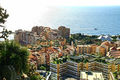 Взгляд Монте-Карло с небоскребами, Стоковое Фото