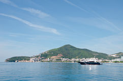 Взгляд морского пехотинца Черногории Стоковое Фото
