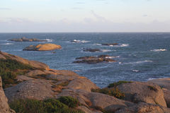 Взгляд моря в Норвегии Стоковая Фотография