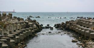 Взгляд моря в Taitung, Тайване Стоковые Фотографии RF