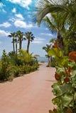 Взгляд моря от Tenerife Стоковые Изображения
