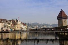 Взгляд моста часовни Стоковая Фотография RF