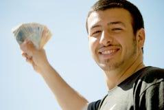 Успешный молодой человек Стоковая Фотография RF
