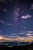 Взгляд млечного пути Стоковые Изображения RF