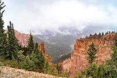 Взгляд национального парка каньона Brice, Юты Стоковая Фотография
