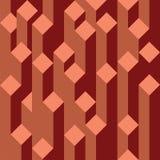 Взгляд на абстрактных блоках Стоковая Фотография
