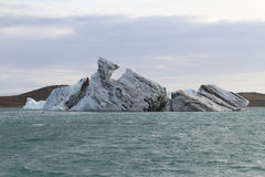 Взгляд на айсберге Стоковые Изображения