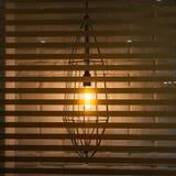 Взгляд на лампе просторной квартиры Стоковые Фотографии RF