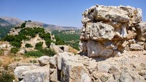 Взгляд на античных руинах Стоковые Фотографии RF
