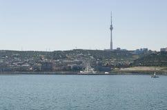 Взгляд на Баку Стоковое Фото