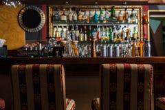 Взгляд на баре Стоковое Фото