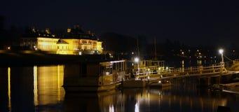 Взгляд на барочном замке Стоковая Фотография